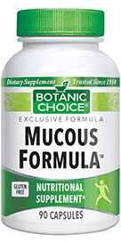 Mucous Formula 90 capsules