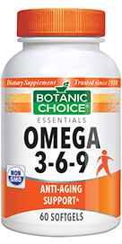 Omega 3-6-9 1000 mg 60 softgels