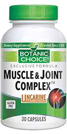 Muscle / Joint Complex 30 capsulesnohtin