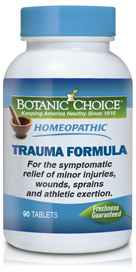 Homeopathic Trauma Formula 90 tabletsnohtin