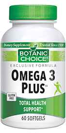 Omega 3 Plus 60 softgels
