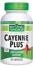 Cayenne Plus New / Improved! 45 capsules