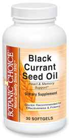 Black Currant Seed Oil 535 mg 30 softgels
