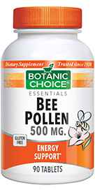 Bee Pollen Tablets 500 mg 90 tabletsnohtin