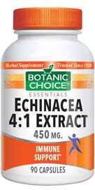 Echinacea 4&58;1 Extract 450 mg 90 capsulesnohtin