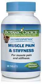 Homeopathic Muscle Pain &38; Stiffness Formula 90 tabletsnohtin