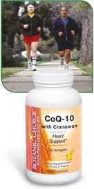 CoQ-10 with Cinnamon 30 softgels