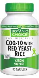 CoQ-10 with Red Yeast Rice 30 softgelsnohtin