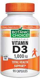 Vitamin D3 - 1000 IU Capsules 90 capsulesnohtin
