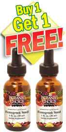 Fenugreek Seed Liquid Extract - Buy 1 Get 1 Free 1 oznohtin
