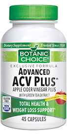 Advanced Apple Cider Vinegar Plus with Green Tea 45 capsules