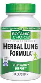 Herbal Lung Formula 30 capsules