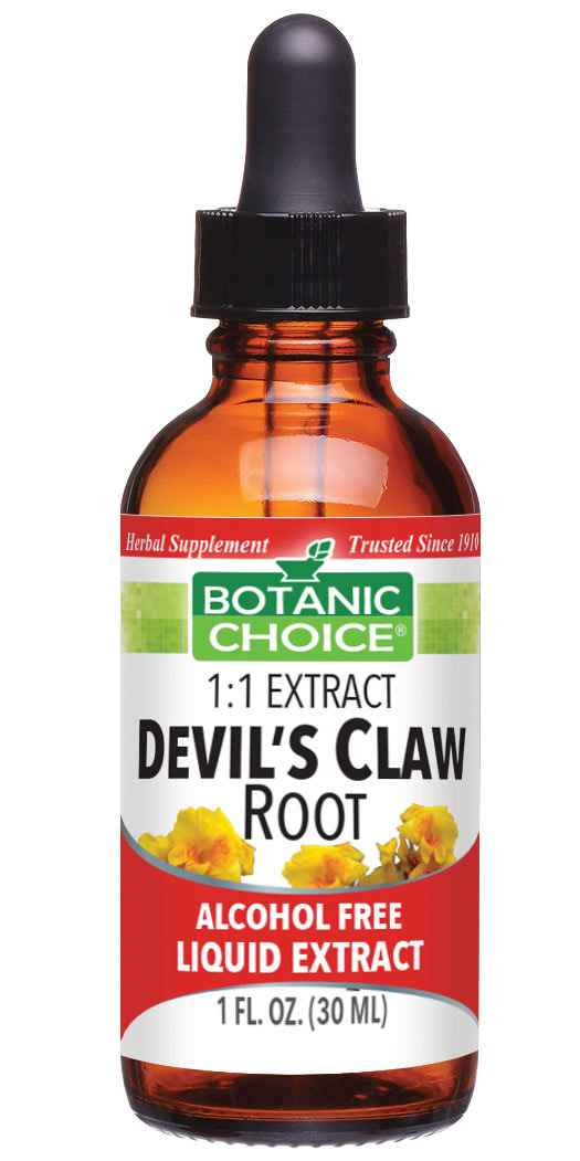 Botanic Choice Devil's CLA 1170 mgw Root Liquid Extract - Joint Health Support Supplement - 1 Oz