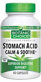 Stomach Acid Calm / Soothe 60 capsulesnohtin