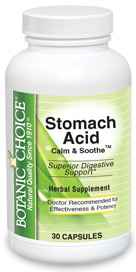 Stomach Acid Calm / Soothe 30 capsules