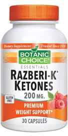 Razberi-K Ketones 200 mg 30 capsulesnohtin