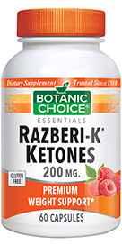 Razberi-K Ketones 200 mg 60 capsules