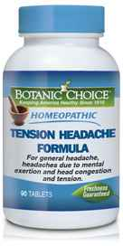 Image of Homeopathic Tension Headache Formula 90 tablets