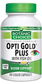 Opti Gold Plus with Fish Oil 60 liquid capsulesnohtin