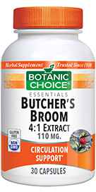 Butchers Broom Extract 110 mg 30 capsules