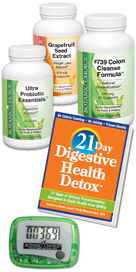 21-Day Digestive Health Detox 1 kit