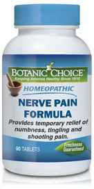 Homeopathic Nerve Pain Formula 90 tabletsnohtin