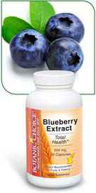 Blueberry Extract 250 mg 30 capsules