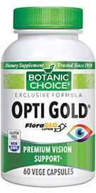 Opti Gold Vision Formula 60 capsules