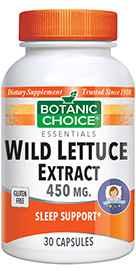 Wild Lettuce Extract 30 capsulesnohtin