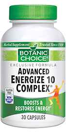 Advanced Energize 10 Complex 30 capsules