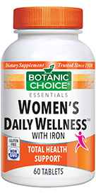 Women's Daily Wellness with Iron 60 tablet
