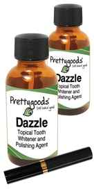 Prettygoods Dazzle Tooth Whitener 2-Pack Plus Free Mascara 1 oz per bottle