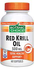 Red Krill Oil 500 mg 60 softgelsnohtin