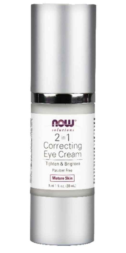 http://www.BotanicChoice.com - NOW Foods2 in 1 Correcting Eye Cream – 1 Oz 14.49 USD