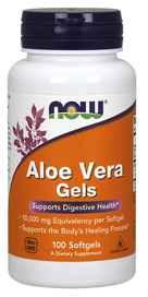 NOW Foods Aloe Vera 5000 mg 100 Softgelsnohtin