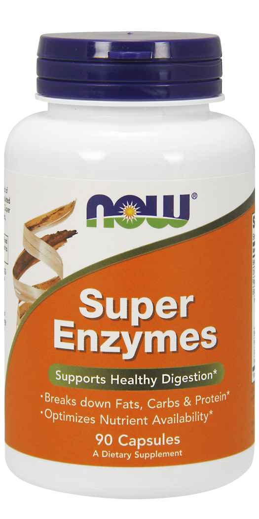 NOW FoodsSuper Enzymes - 90 Capsules