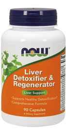 NOW Foods Liver Detoxifier Regenerator 90 Capsules
