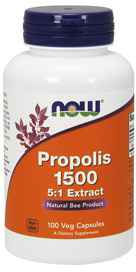 NOW Foods Propolis 500 mg 100 Capsulesnohtin