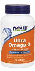 NOW Foods Ultra Omega-3 90 Softgels