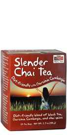 NOW Foods Slender Chai Tea 24 tea bags