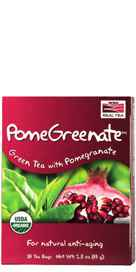 NOW Foods PomeGreenate Tea - 24 Tea Bags 24 Tea Bags