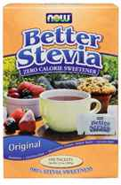 NOW Foods Better Stevia Extract Packets - 100 Packets 100 Packets