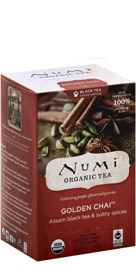 Organic Golden Chai Tea 18 tea bags