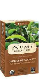 Organic Chinese Breakfast Tea 18 tea bags