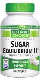 Sugar Equilibrium II - 90 Count 90 Capsules