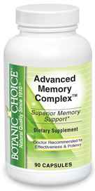 Advanced Memory Complex 90 capsulesnohtin