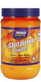 NOW Foods L-Glutamine Powder 1 lb Pwdrnohtin
