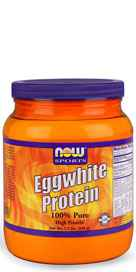 """""""Eggwhite Protein from NOW Foods is an excellent natural source of high quality protein.  Good quality proteins contain virtually no fat or carbohydrates and rate well on the PDCAAS (Protein Digestibility Corrected Amino Acid Score), the newest and most ac"""""""