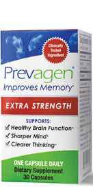 """""""Only Prevagen contains the ingredient apoaequorin, a unique protein originally obtained from a specific species of jellyfish called Aequorea victoria found in the Puget Sound. Apoaequorin is a protein our brains need for healthy function but is diminished"""""""