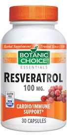 Resveratrol 100 mg 30 capsulesnohtin